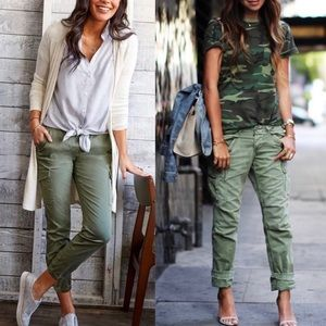 Converse Utility Cargo Olive Green Pants